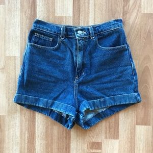 American apparel high waisted shorts.